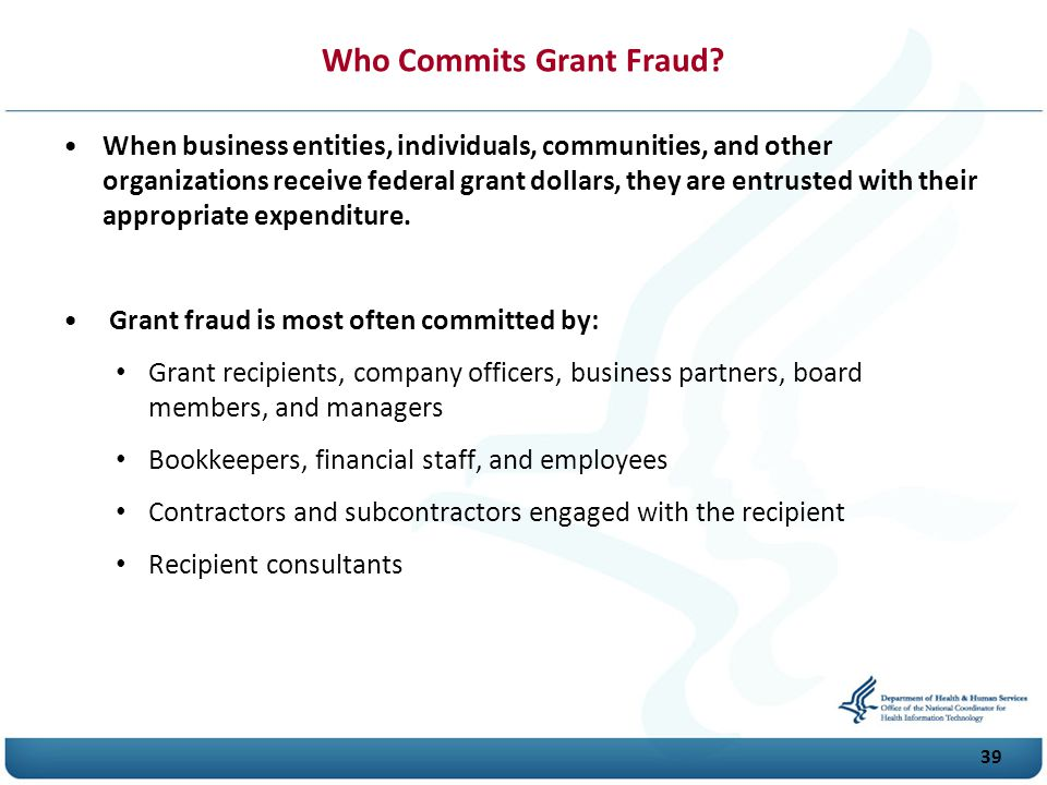 Who Commits Grant Fraud