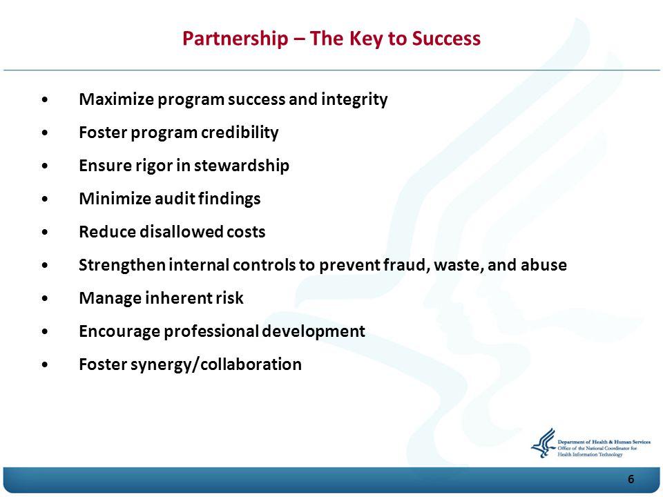 Partnership – The Key to Success
