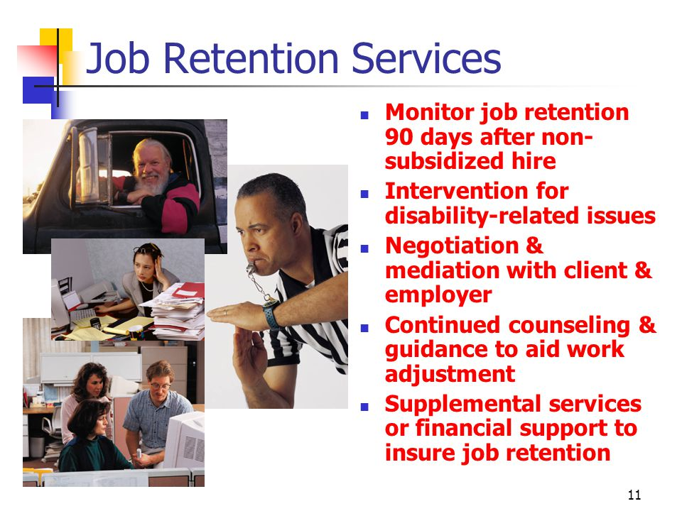 Job Retention Services