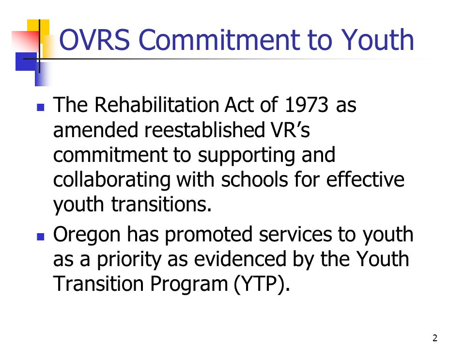 OVRS Commitment to Youth