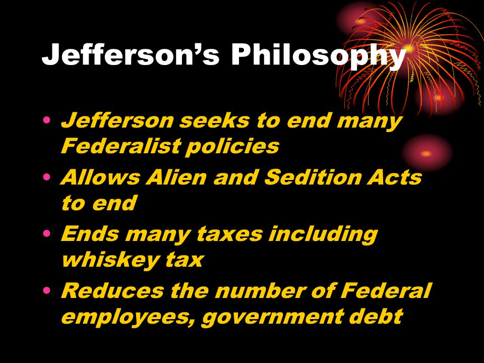 Jefferson's Philosophy
