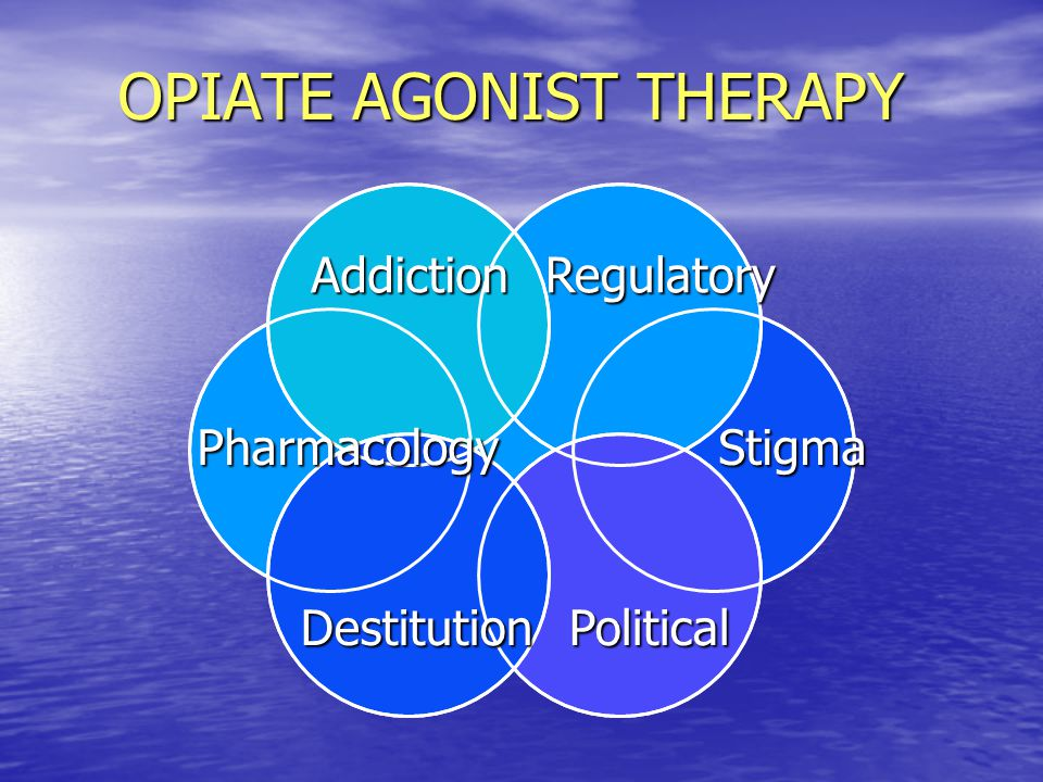 OPIATE AGONIST THERAPY