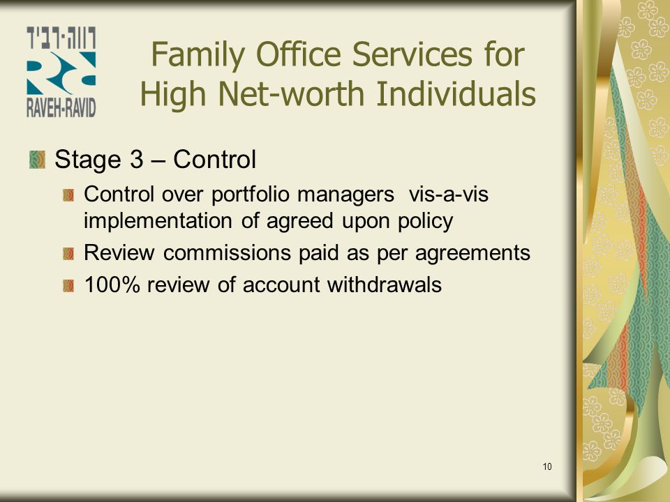 Family Office Services for High Net-worth Individuals