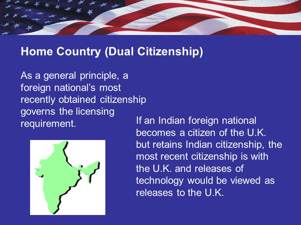 Home Country (Dual Citizenship)