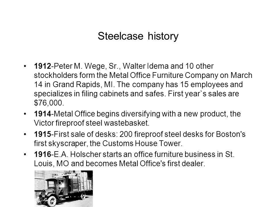 Steelcase history