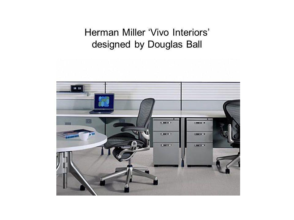 Herman Miller 'Vivo Interiors' designed by Douglas Ball