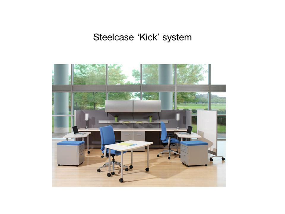 Steelcase 'Kick' system