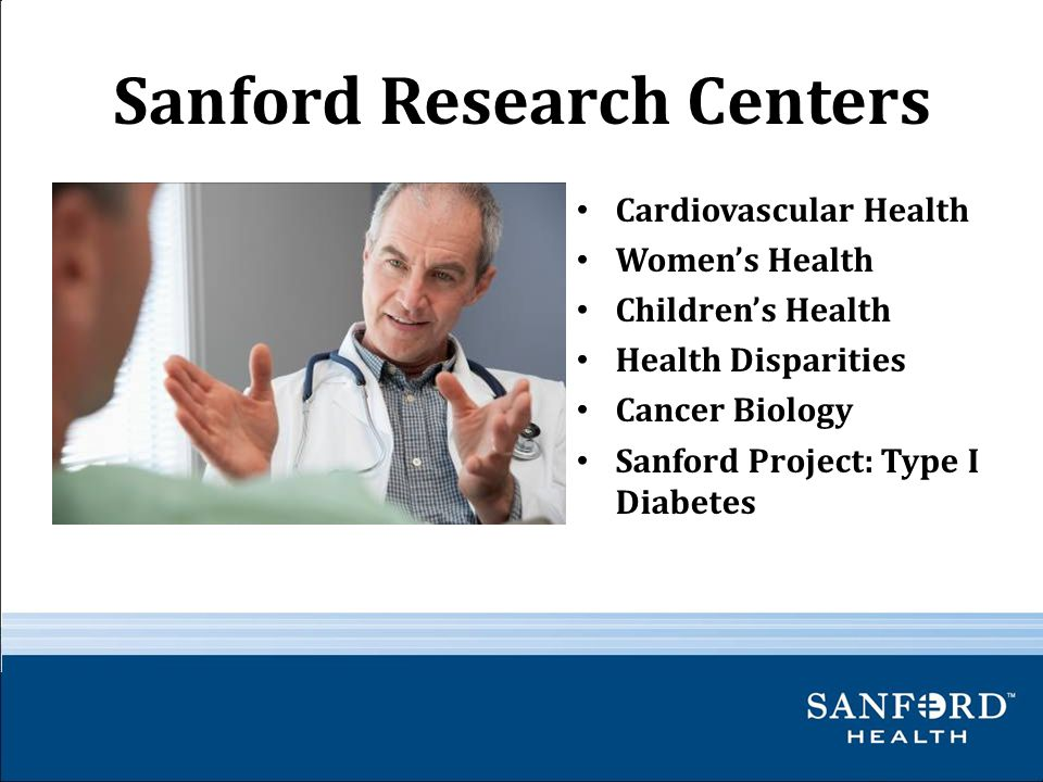 Sanford Research Centers