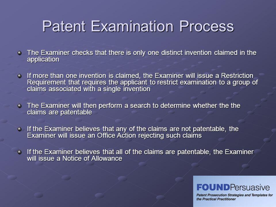 Patent Examination Process