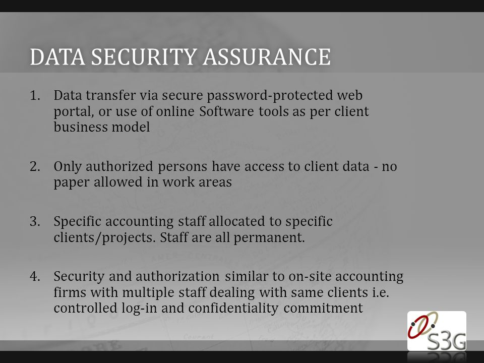 Data security assurance
