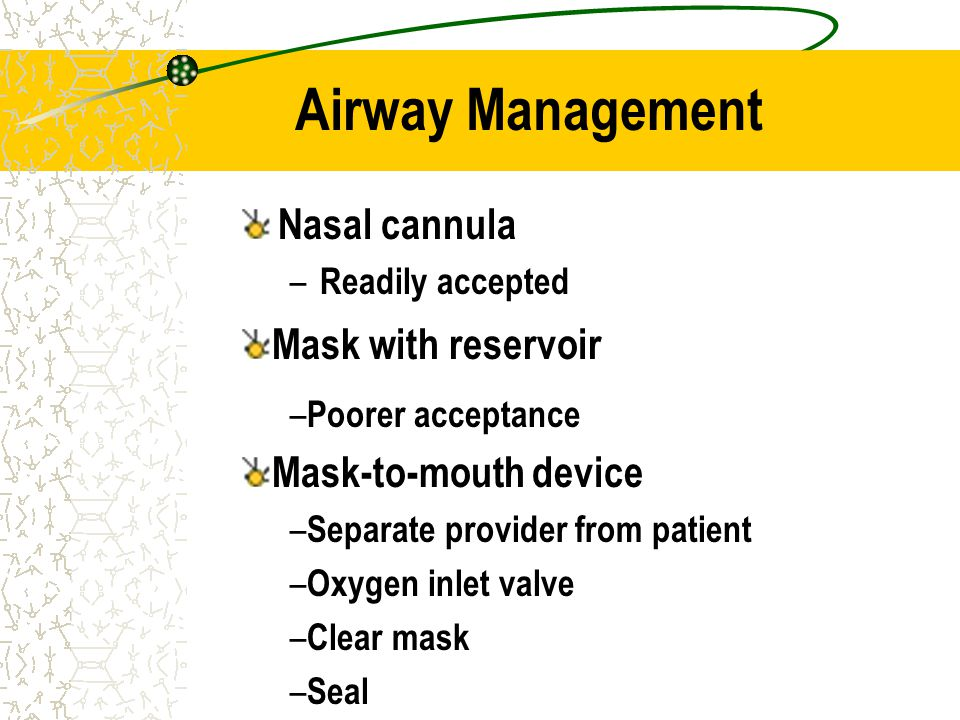 Airway Management Nasal cannula Mask with reservoir