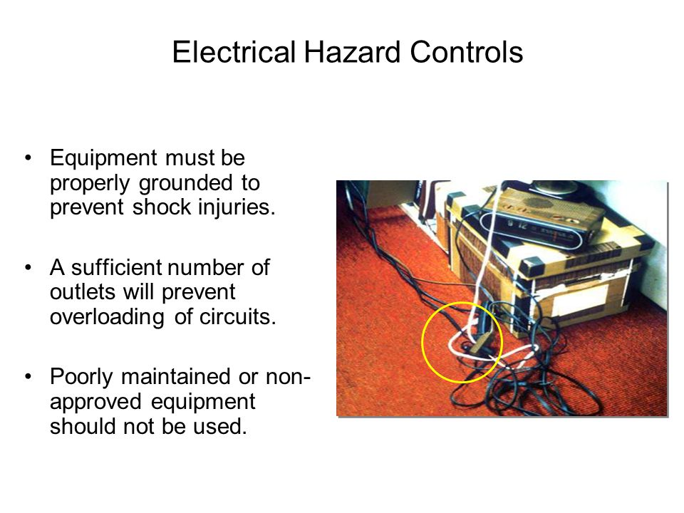 Electrical Hazard Controls