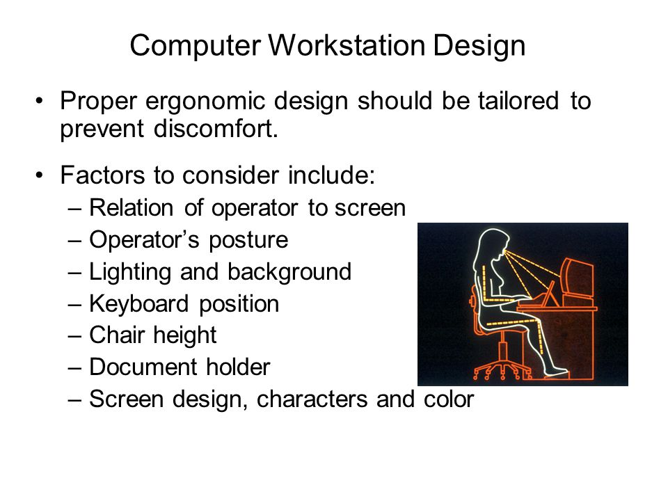Computer Workstation Design