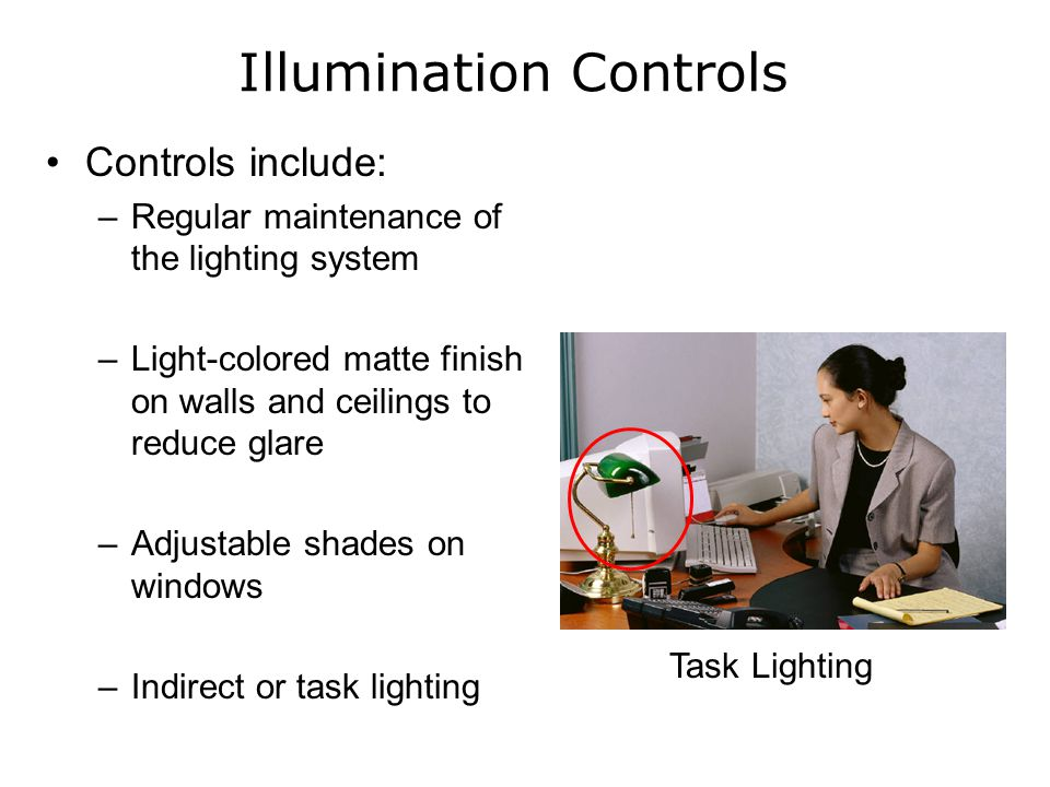 Illumination Controls