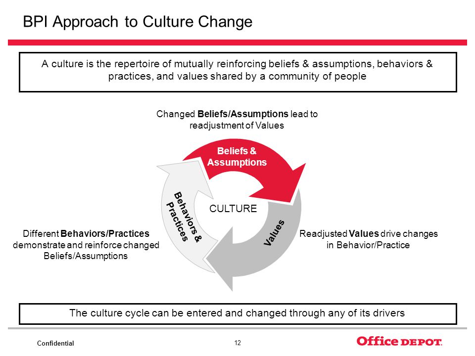 BPI Approach to Culture Change
