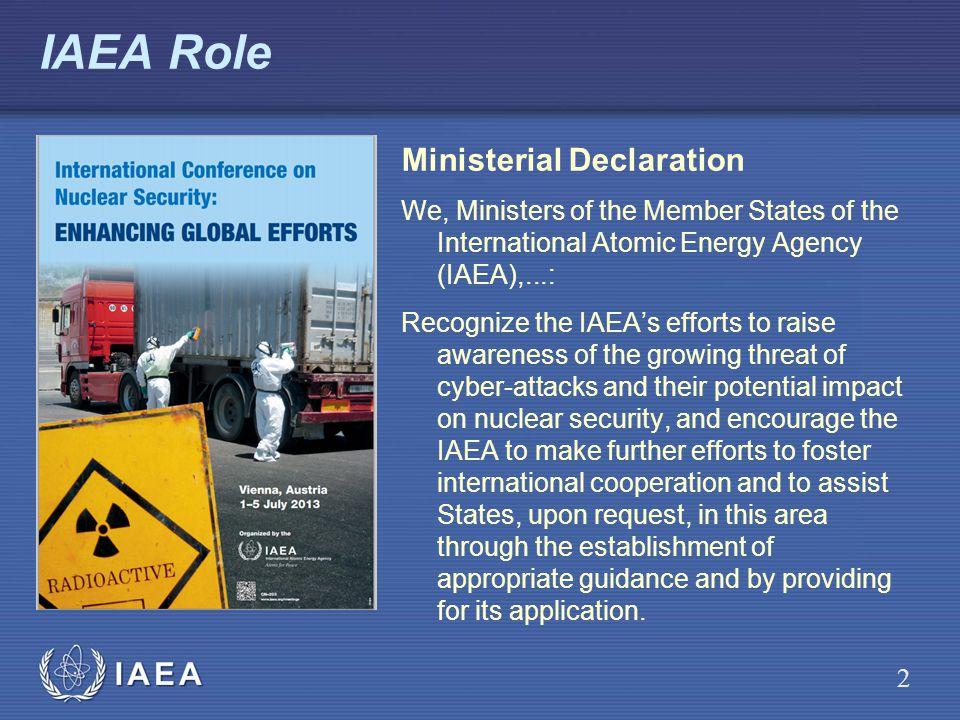 IAEA Role Ministerial Declaration