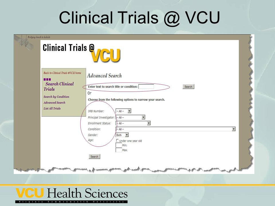 Clinical Trials @ VCU