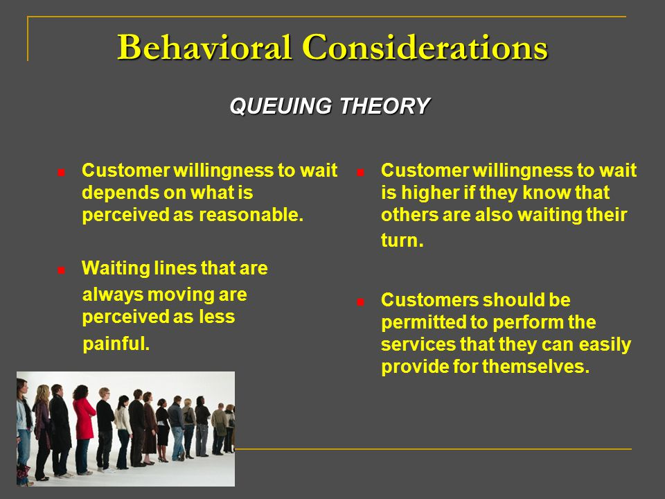 Behavioral Considerations