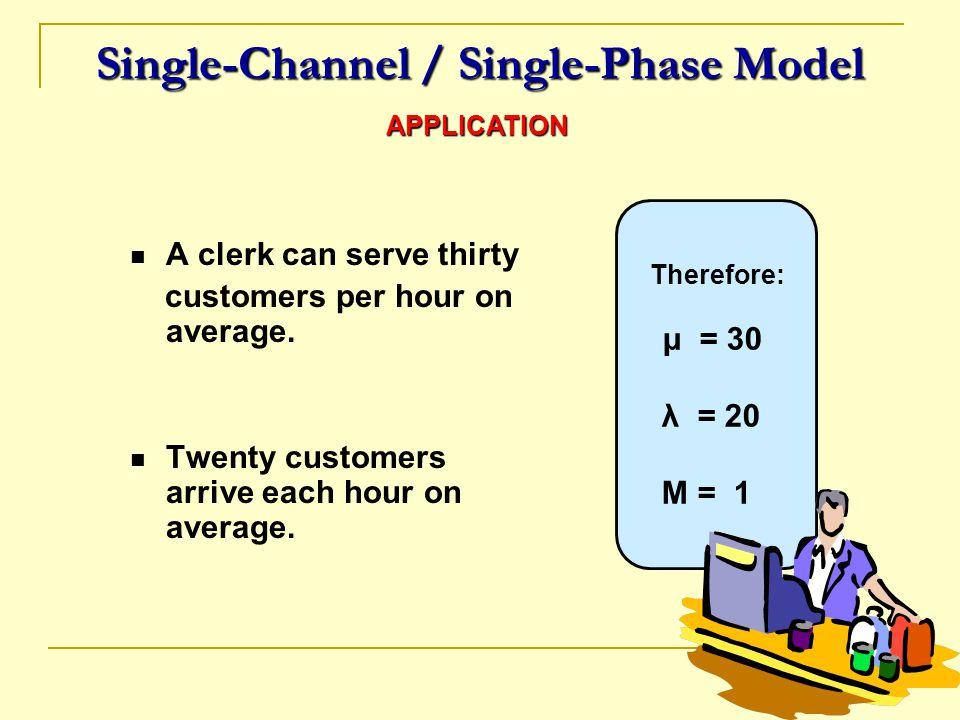 Single-Channel / Single-Phase Model