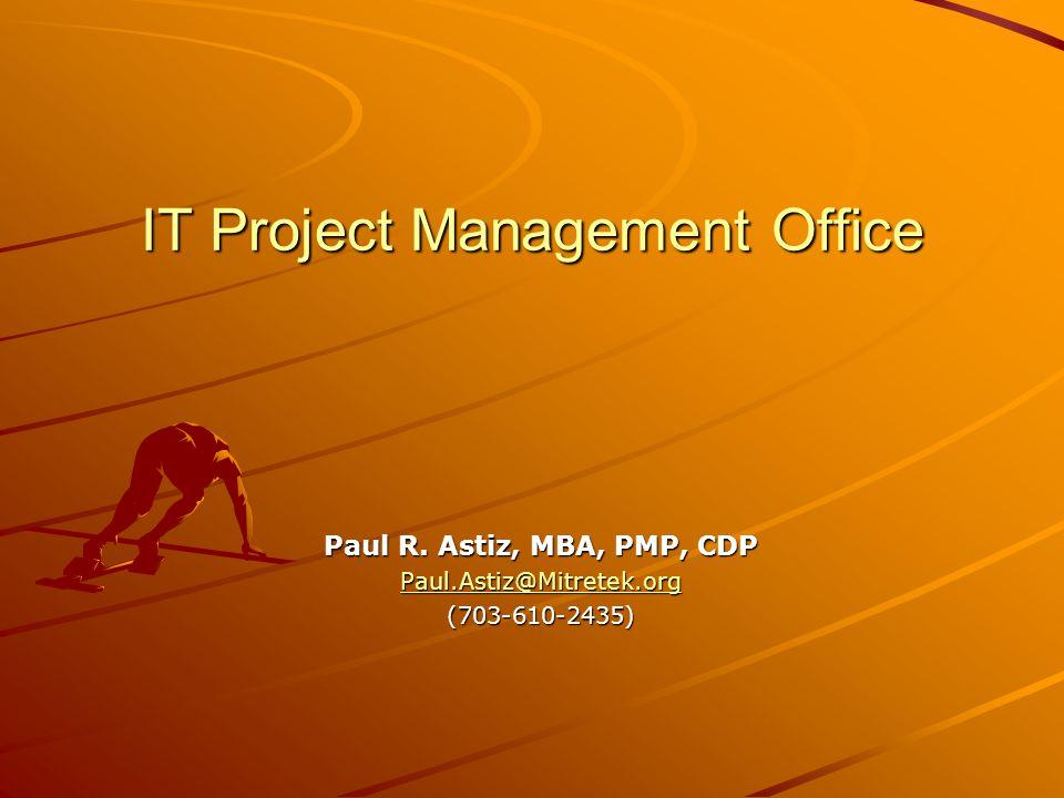 IT Project Management Office