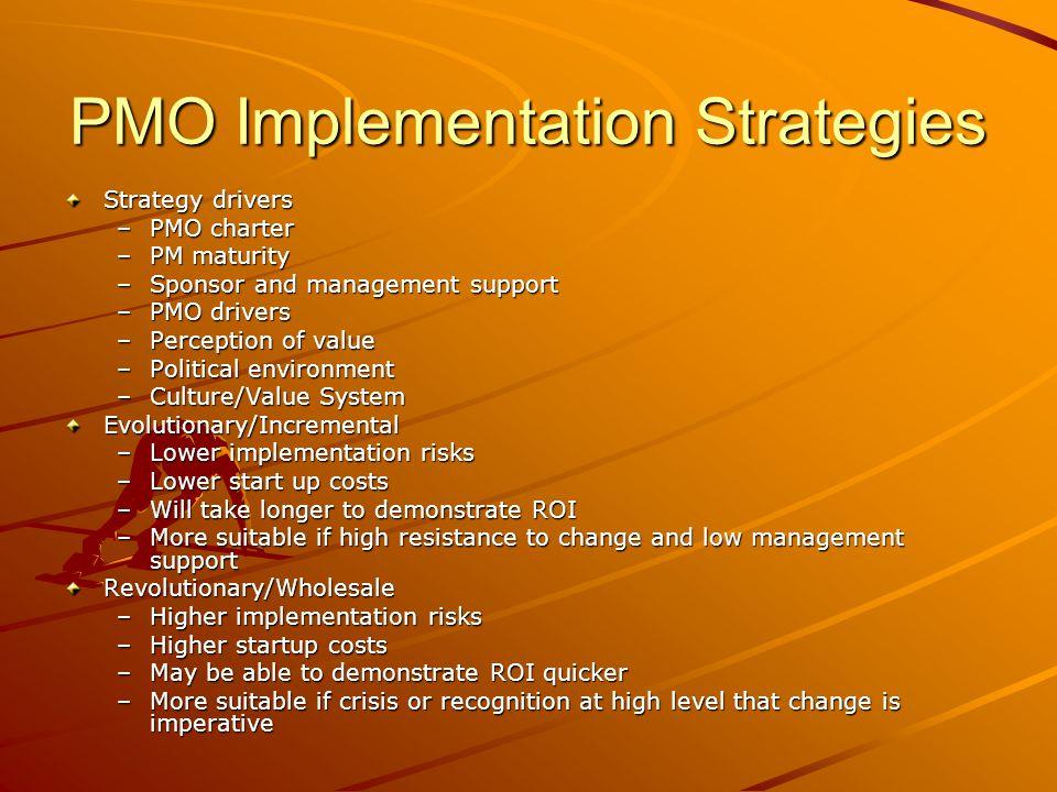 PMO Implementation Strategies