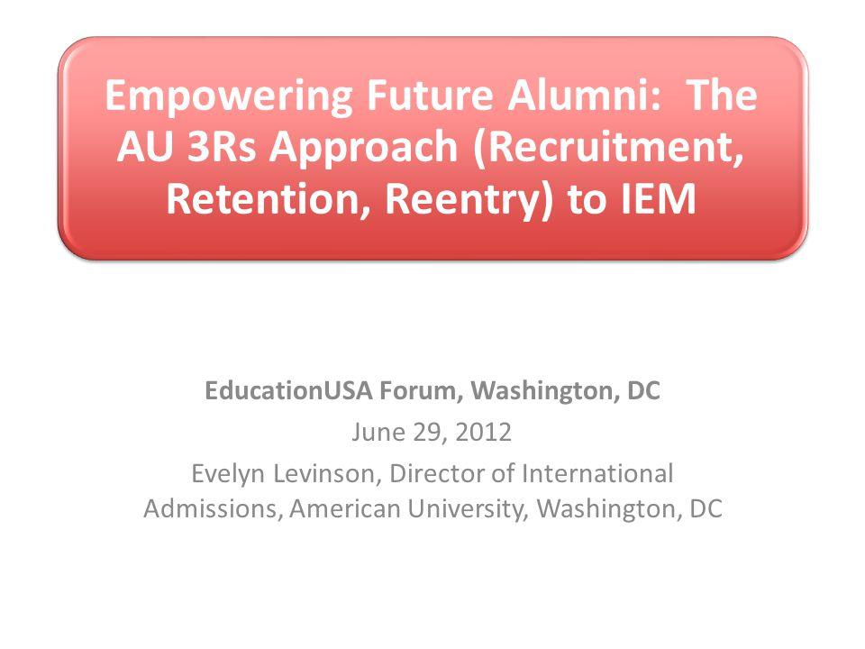 EducationUSA Forum, Washington, DC