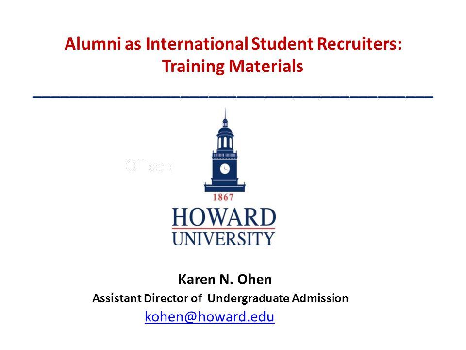 Assistant Director of Undergraduate Admission