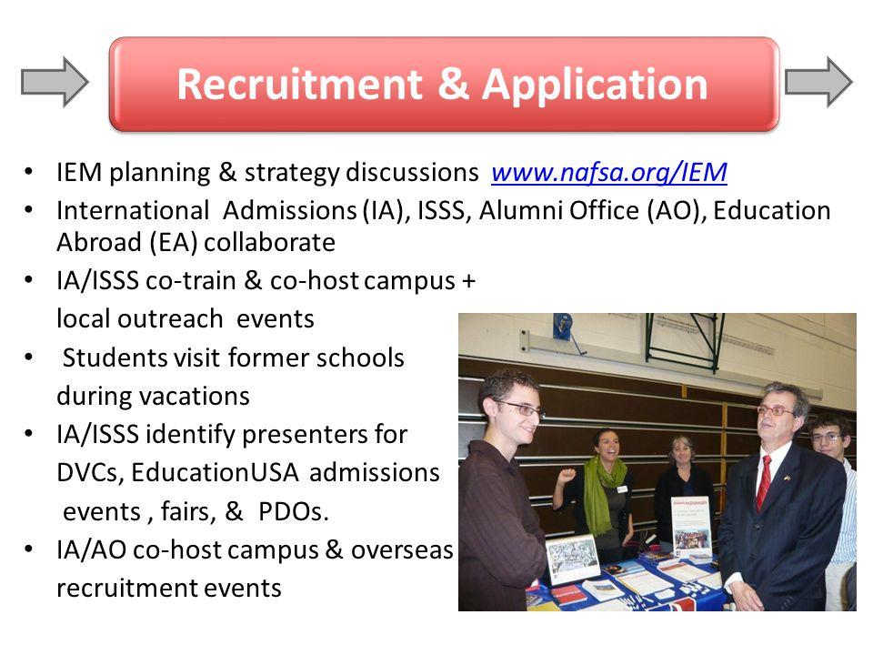 Recruitment & Application