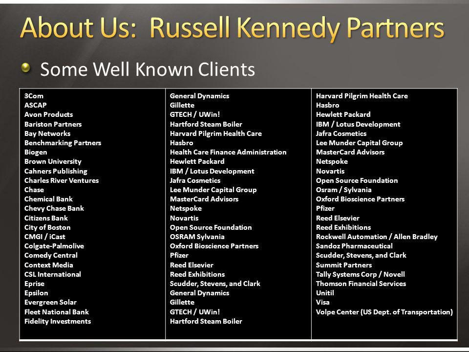 About Us: Russell Kennedy Partners