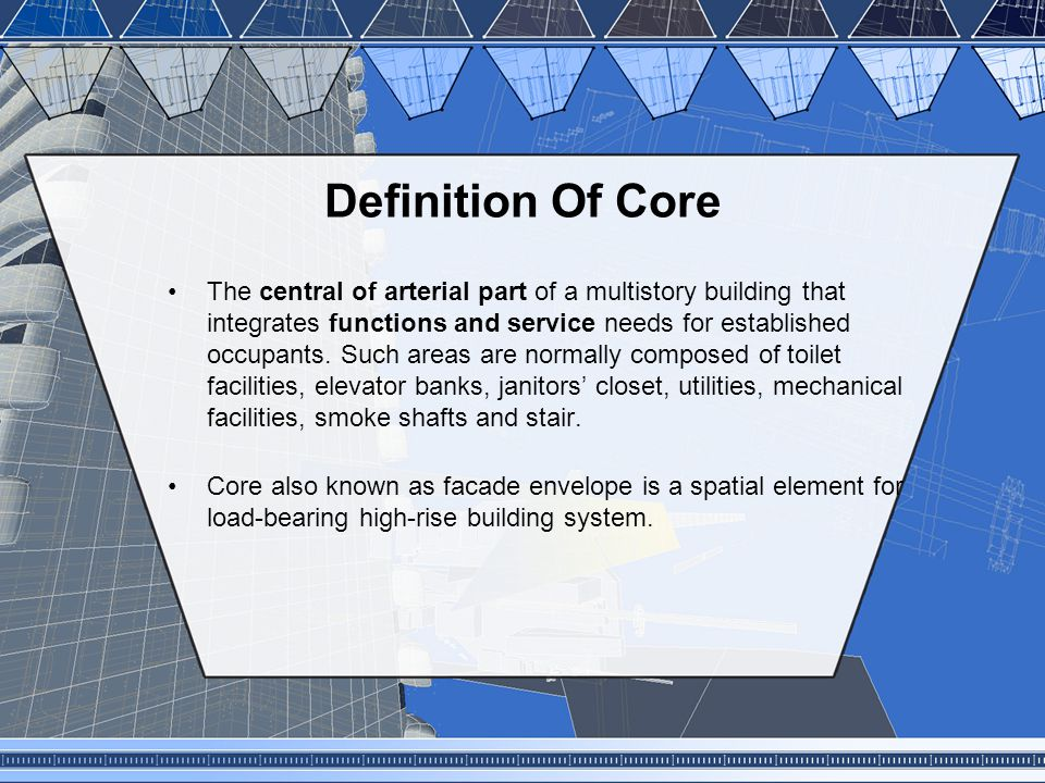 Definition Of Core