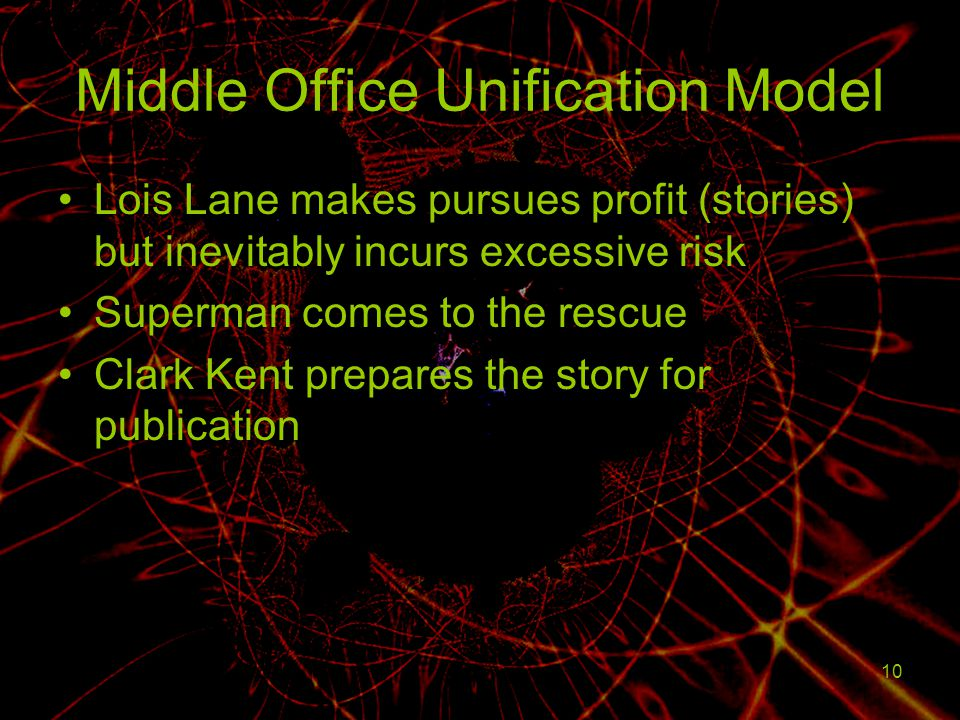 Middle Office Unification Model