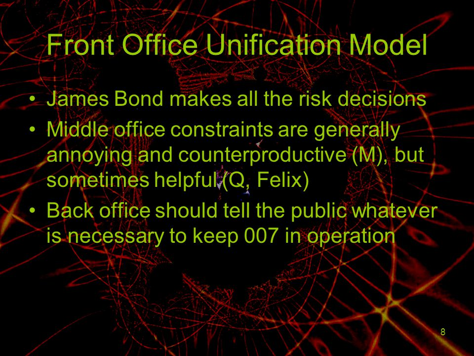 Front Office Unification Model