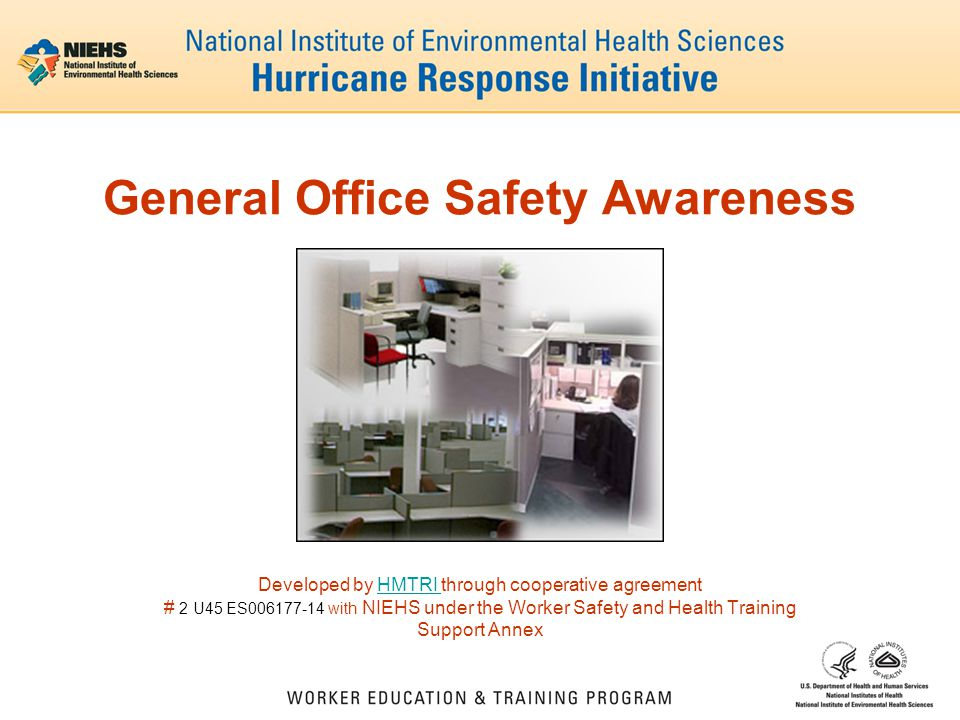 General Office Safety Awareness