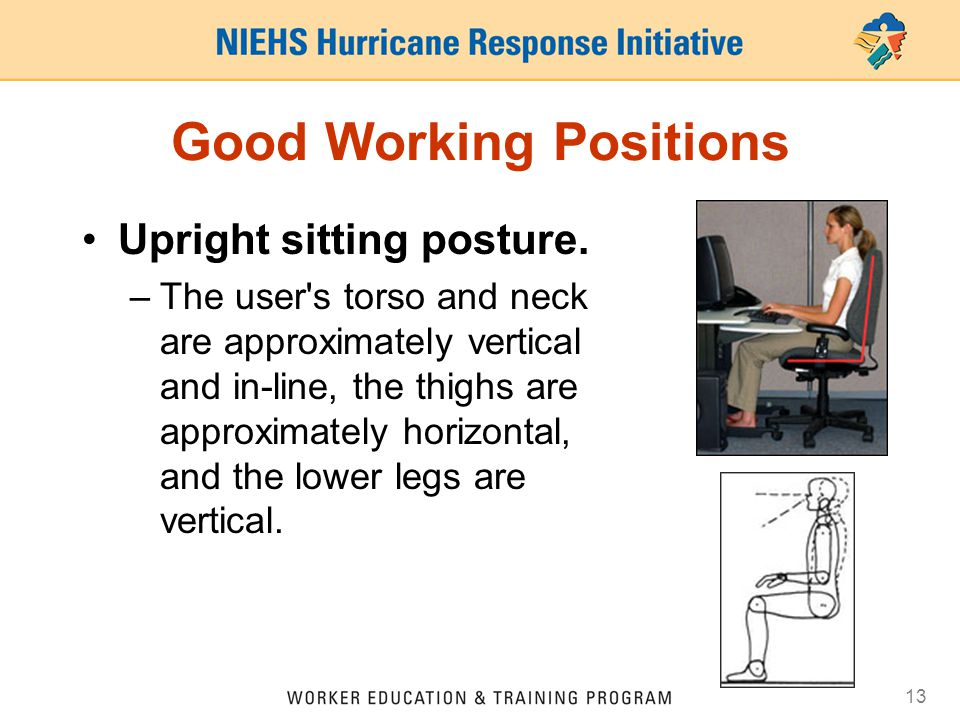 Good Working Positions