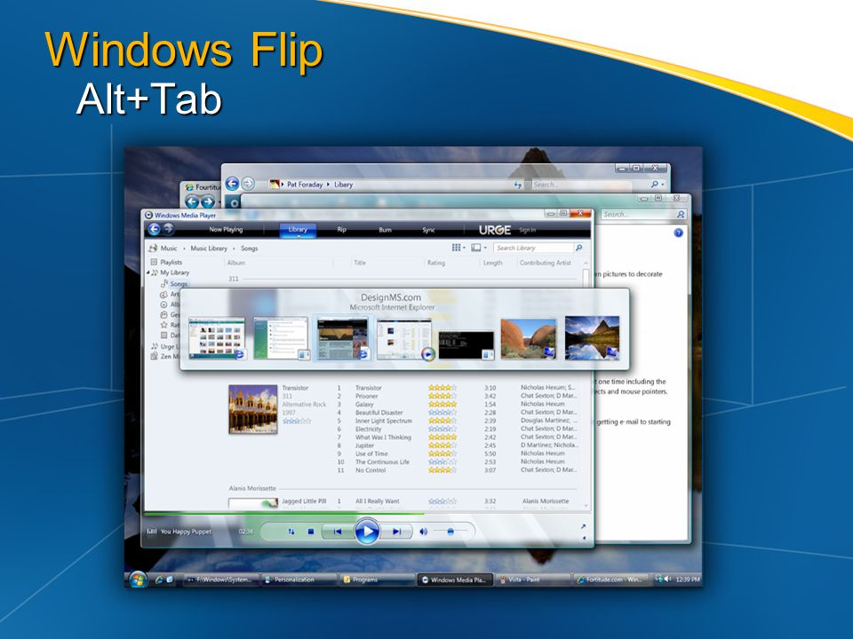 Windows Flip Alt+Tab