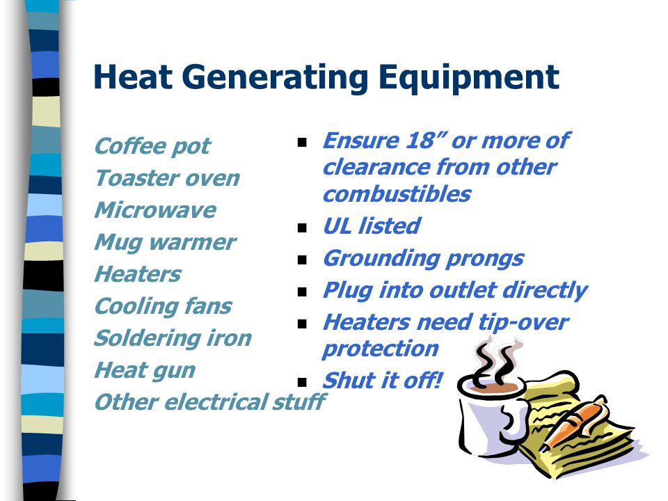 Heat Generating Equipment