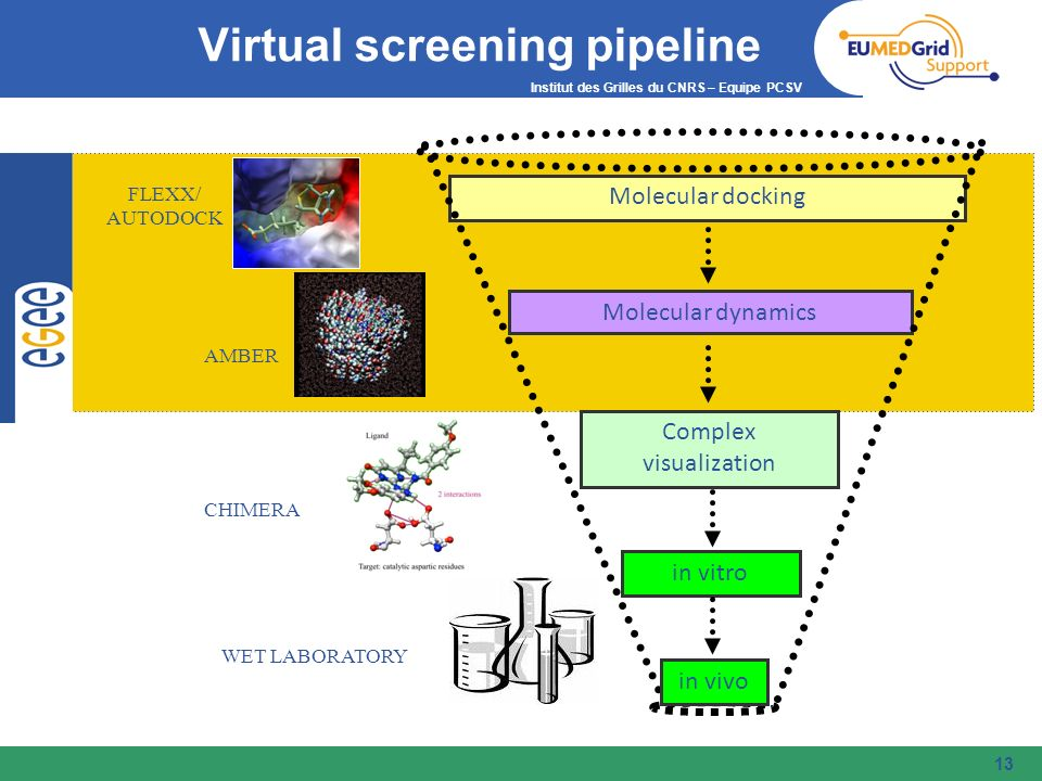 Virtual screening pipeline