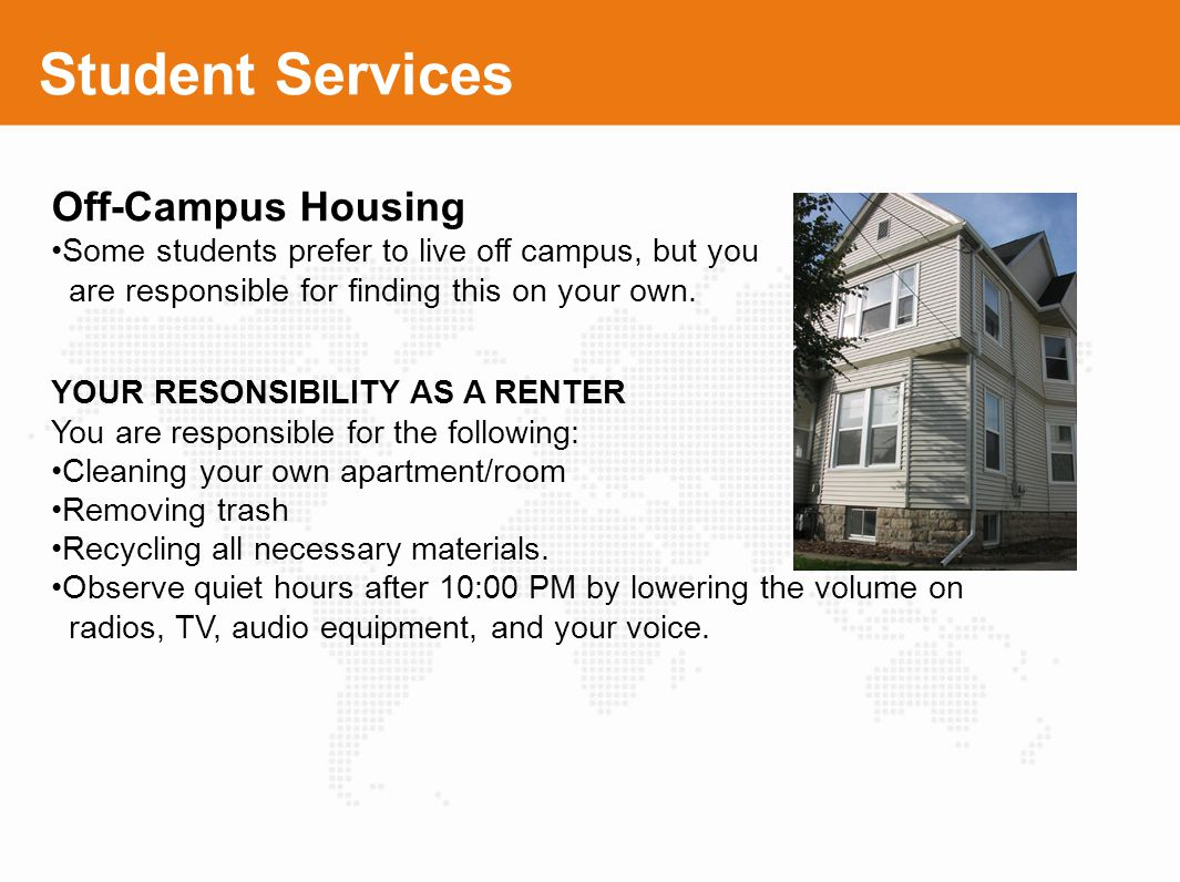 Student Services Off-Campus Housing