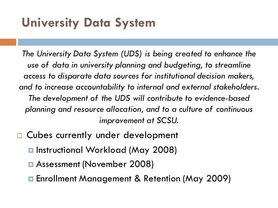 University Data System