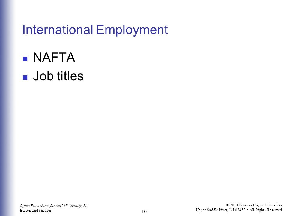 International Employment