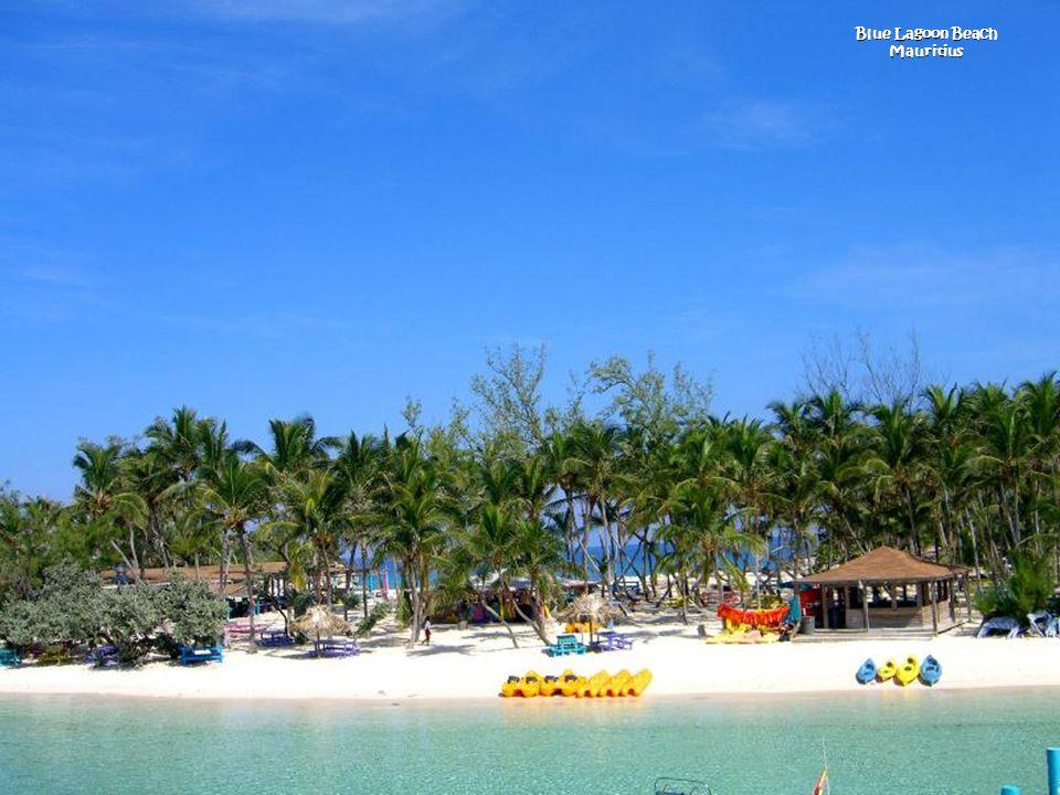Blue Lagoon Beach Mauritius