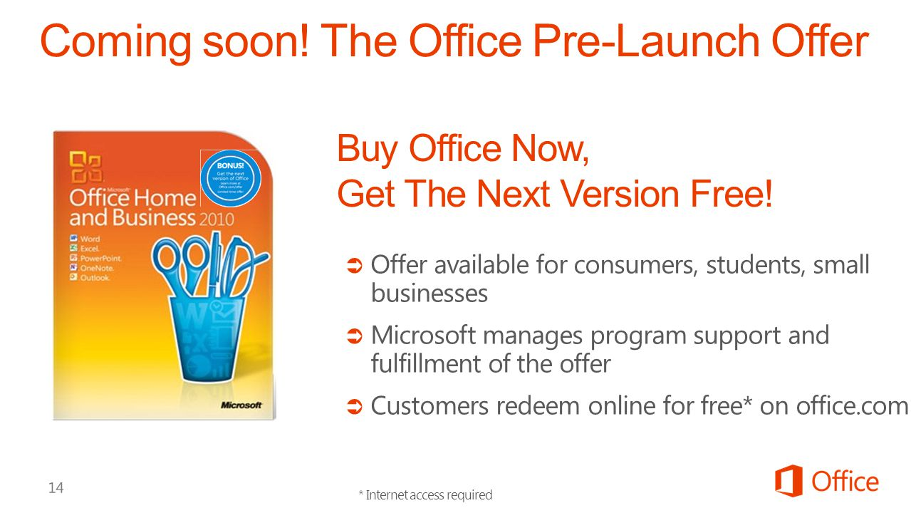 Coming soon! The Office Pre-Launch Offer