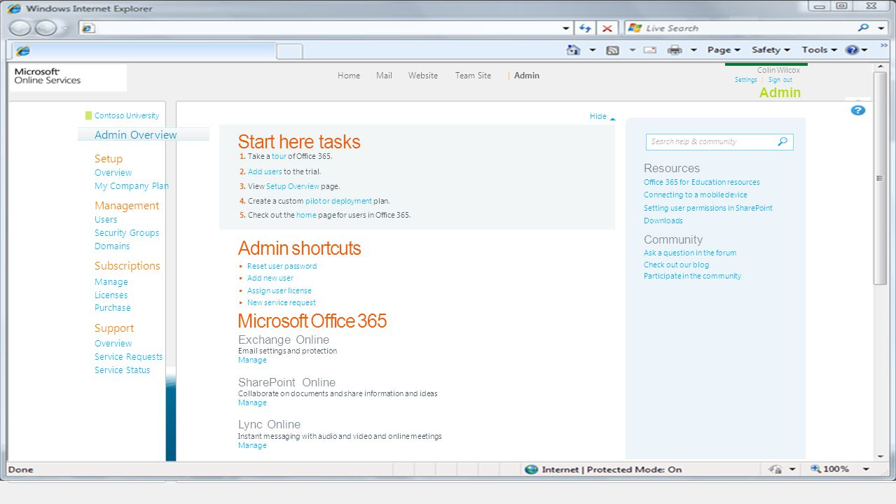 Home Mail Website Team Site | Admin