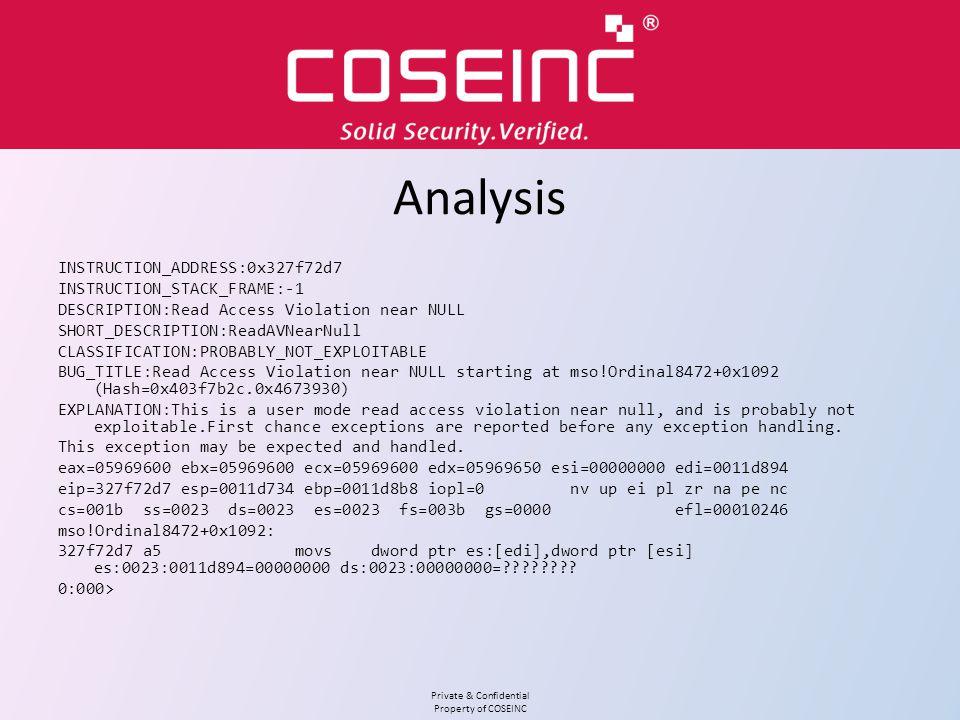 Analysis INSTRUCTION_ADDRESS:0x327f72d7 INSTRUCTION_STACK_FRAME:-1