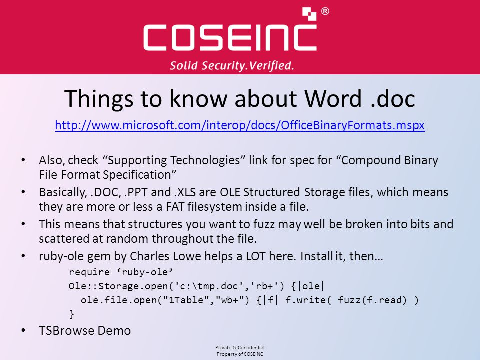 Things to know about Word .doc