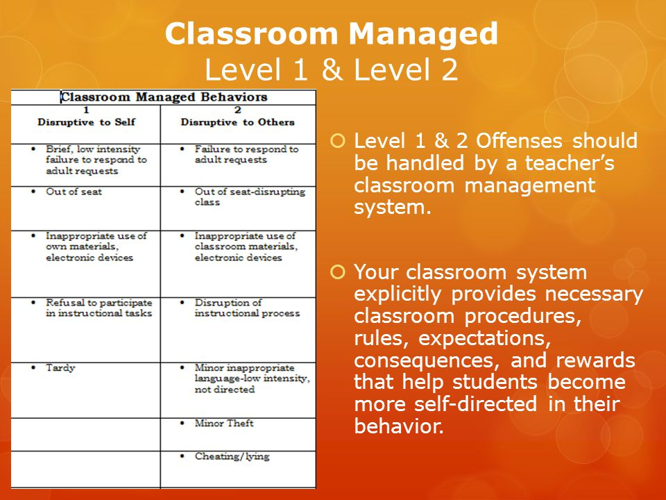 Classroom Managed Level 1 & Level 2