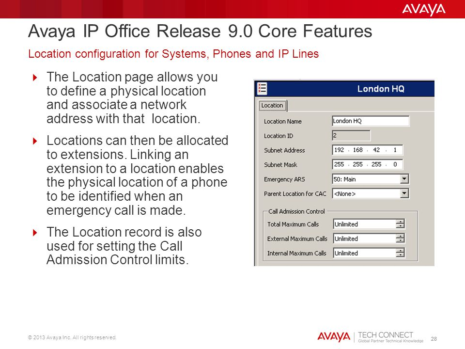 Avaya IP Office Release 9.0 Core Features