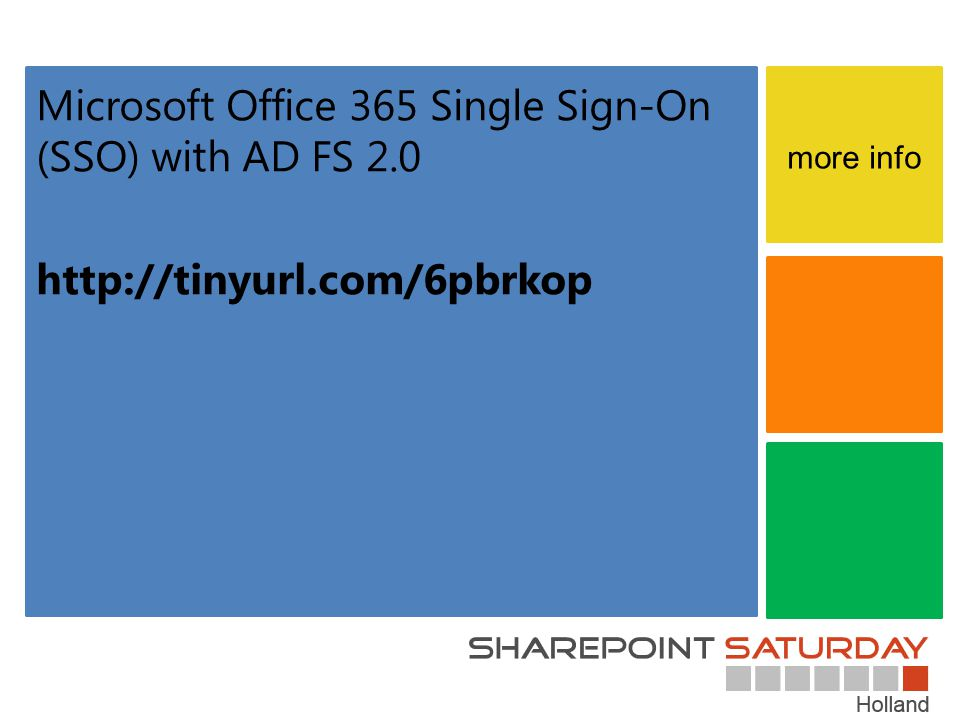 Microsoft Office 365 Single Sign-On (SSO) with AD FS 2.0
