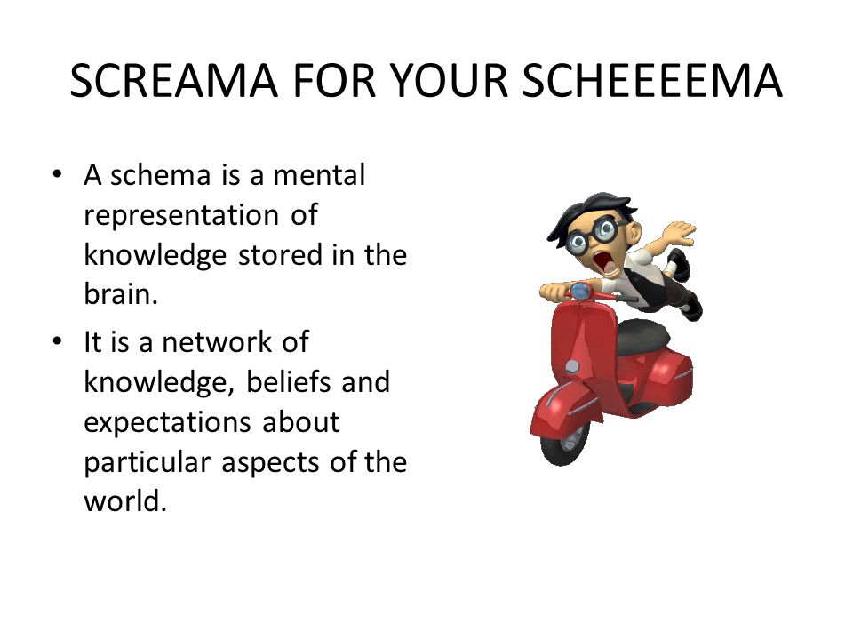 SCREAMA FOR YOUR SCHEEEEMA