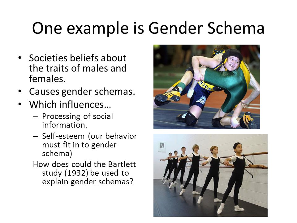 One example is Gender Schema